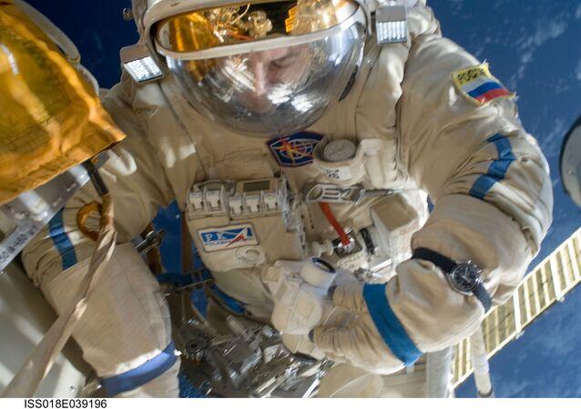 Cosmonaute Yury Lonchakov. Image d'illustration
