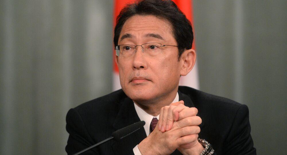 Fumio Kishida, candidat à la succession du Premier ministre japonais