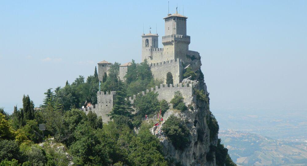 Le château de Saint-Marin