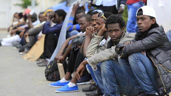Migrants africains - Sputnik France