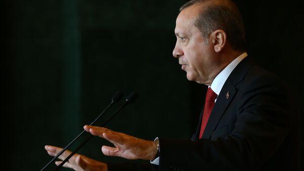 Le président de Turquie Recep Tayyip Erdogan - Sputnik France