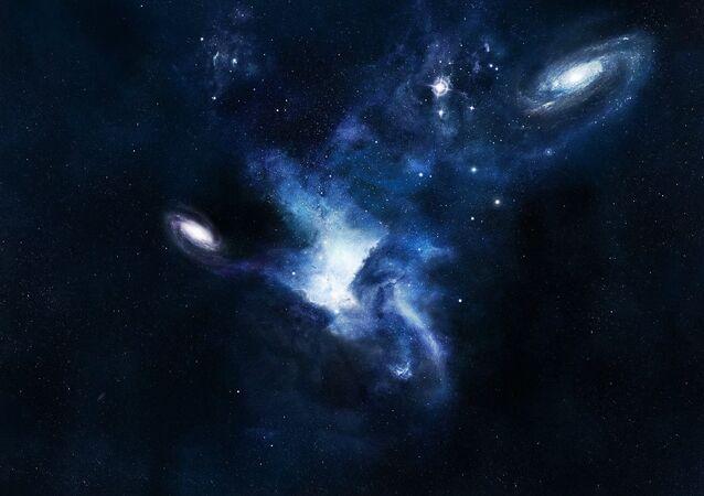 Nouveau sursaut radio venu d'une galaxie lointaine