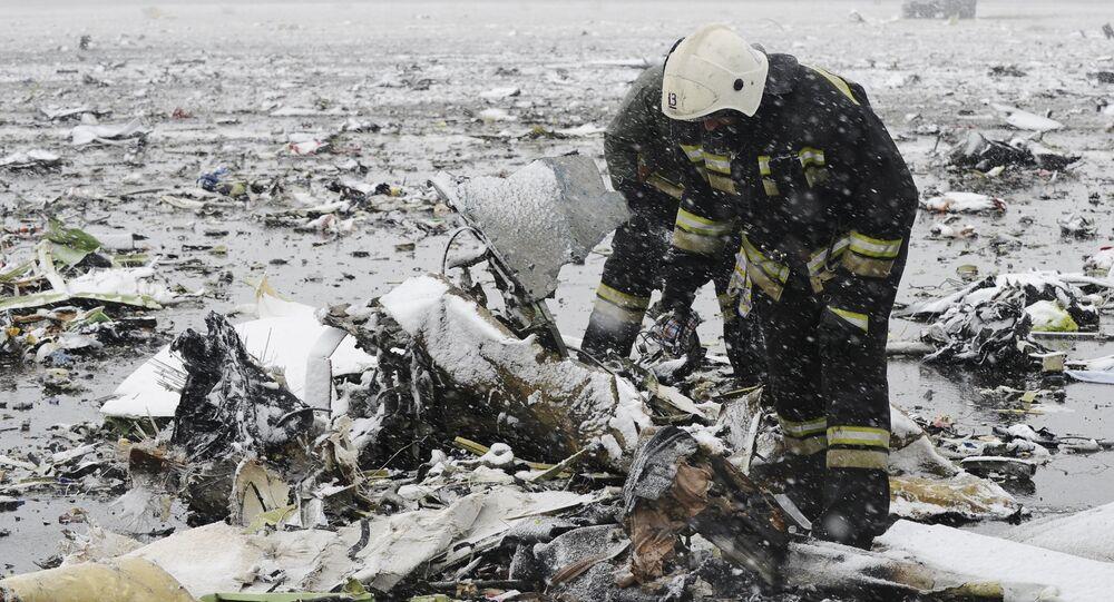 Crash du Boeing 737-800. Sur les lieux du drame.