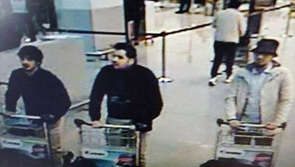 Mutmaßlicher Attentäter im Brüsseler Flughafen - Sputnik France