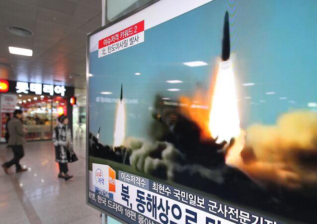 L'armée américaine dit avoir détecté deux missiles nord-coréens