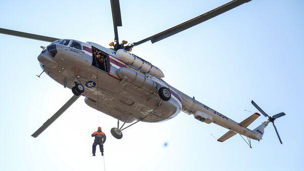L' entraînement des sauveteurs du ministère des Situations d'urgence - Sputnik France