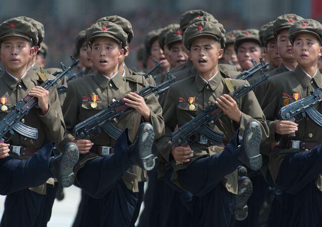Troupes nord-coréennes