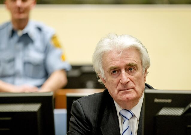 Radovan Karadzic au Tribunal pénal international pour l'ex-Yougoslavie