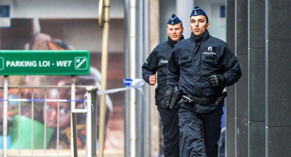 Officiers de police belge