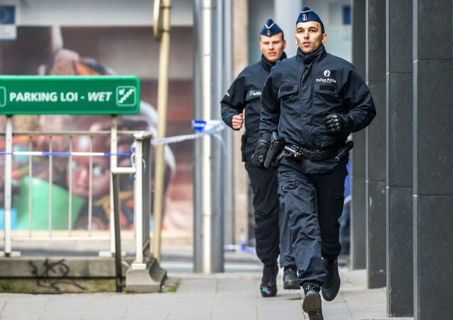 Officiers de police belge