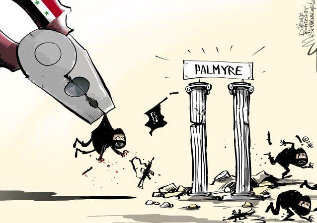Bataille pour Palmyre : la partie historique reprise par l'armée
