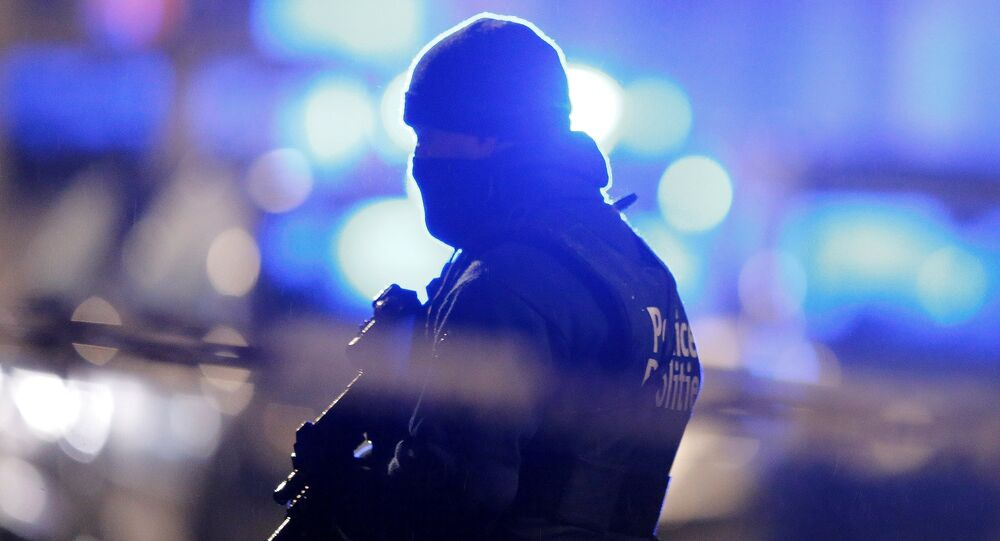 Opération de police à Bruxelles. Archive photo