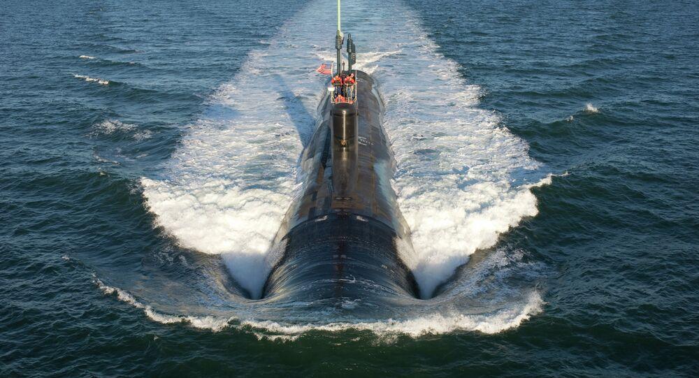 Un sous-marin américain (classe Virginia)