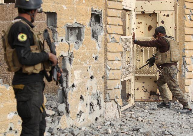 Membres de l'unité d'élite antiterroriste irakienne
