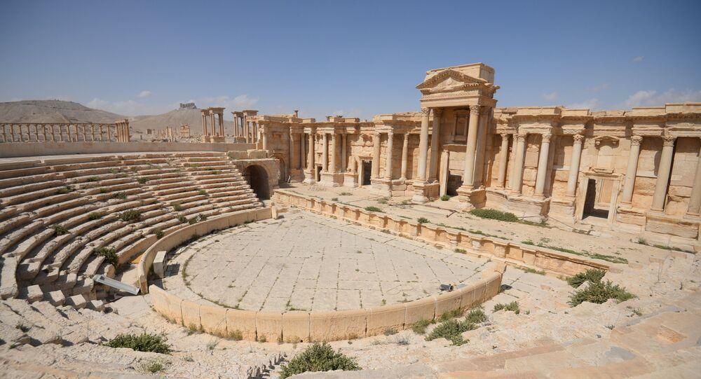 Les militaires russes démineront la ville de Palmyre en Syrie