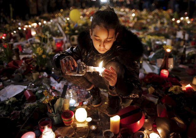 Hommage aux victimes des attaques de Bruxelles
