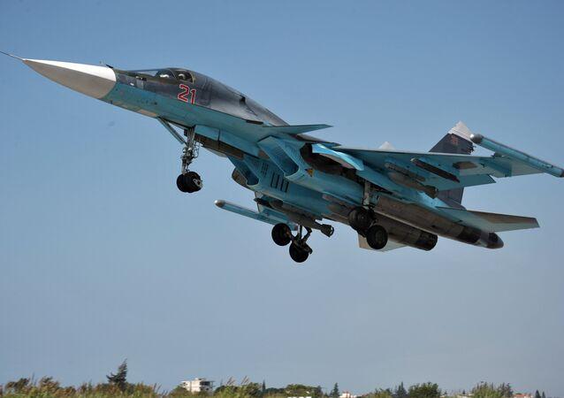 bombardier russe Su-34