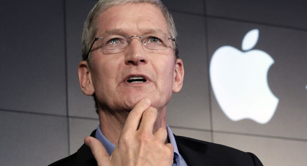 le PDG d'Apple,Tim Cook