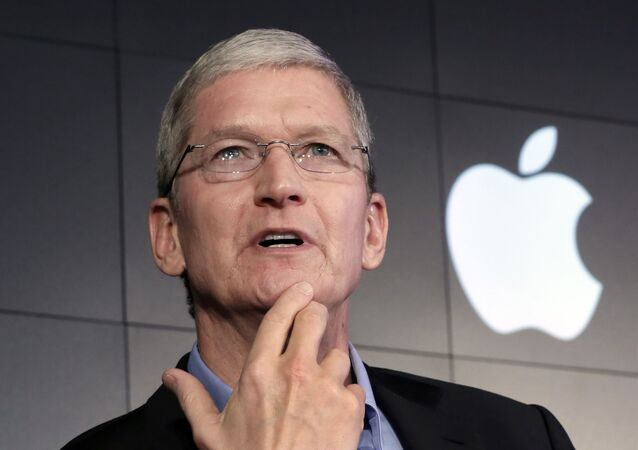 le PDG d'Apple,Tim Cook