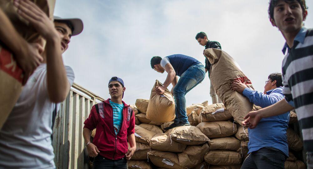 30 tonnes d'aide humanitaire larguée sur Deir ez-Zor assiégée