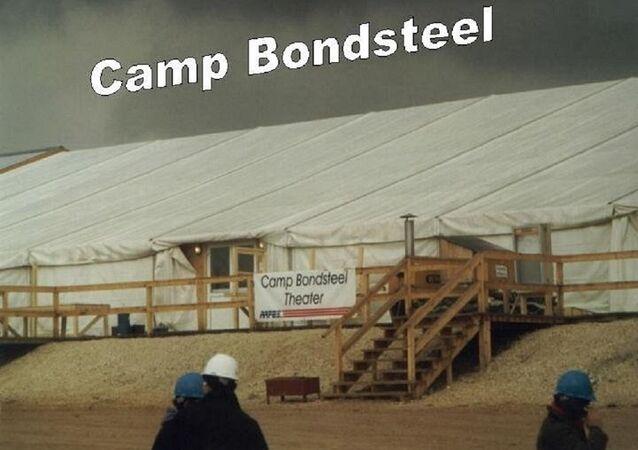 Le camp Bondsteel