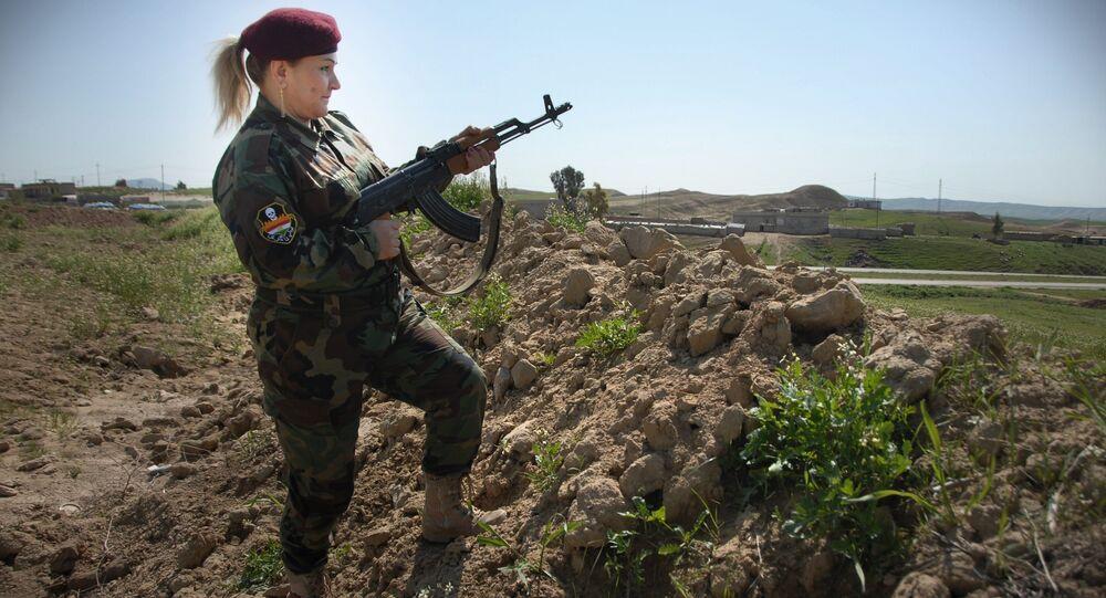 Hesibe Azad: Les djihadistes ont peur des femmes-peshmergas