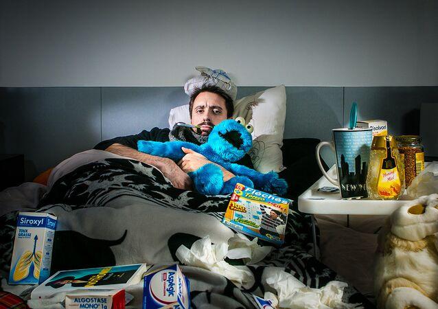 Grippe, image d'illustration
