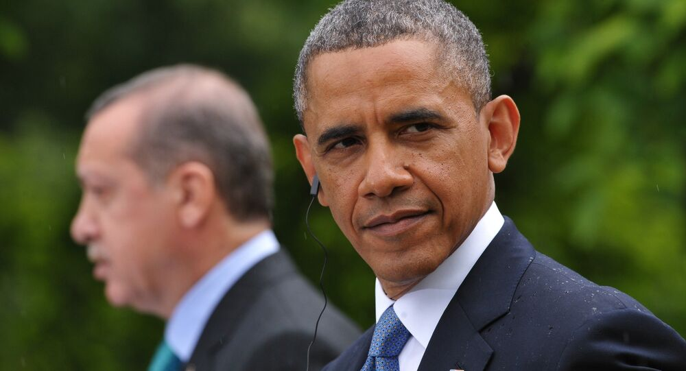 Barack Obama et Recep Tayyip Erdogan