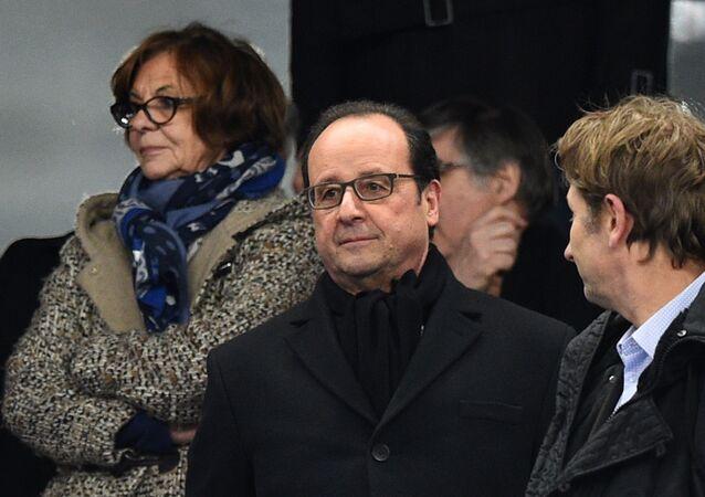 François Hollande au Stade de France