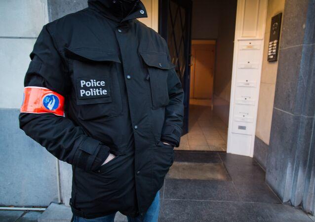 Un policier belge