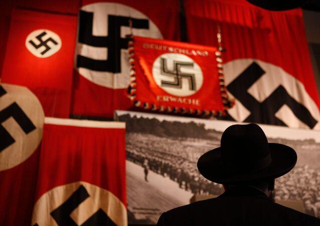 Drapeaux nazi