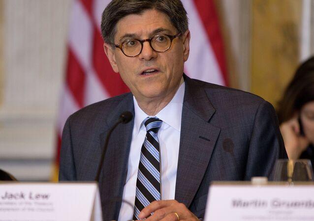 le secrétaire au trésor américain Jacob Lew