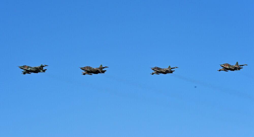 Les avions russes ont réalisé environ 500 sorties sur Palmyre