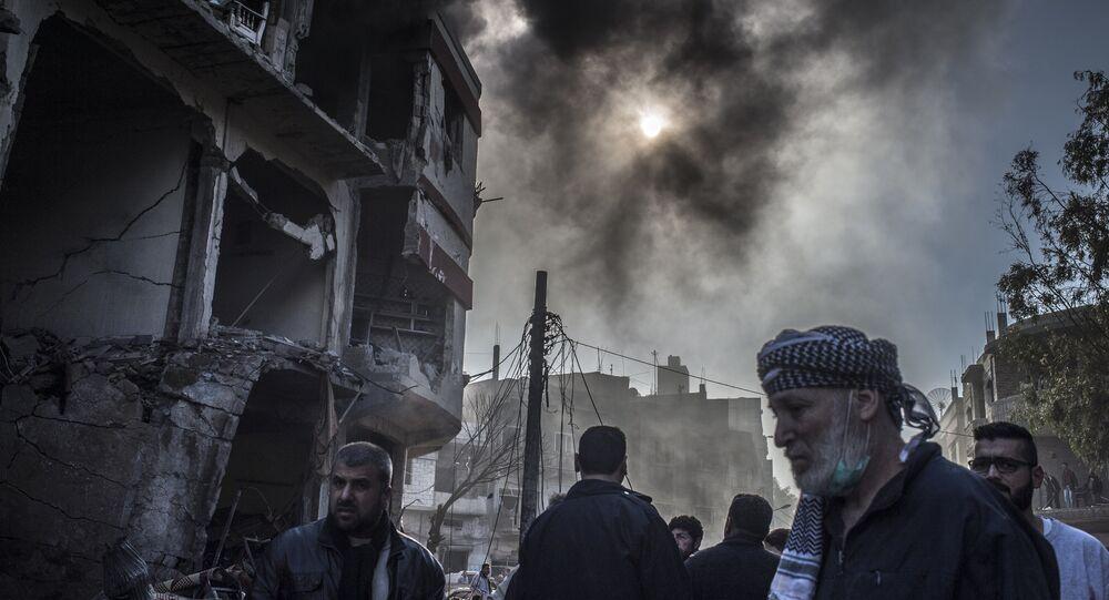 Homs, image d'archive