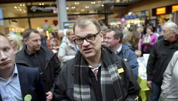 Juha Sipila,premier ministre finlandais - Sputnik France