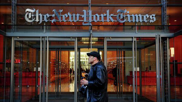 Le siège du journal The New York Times à New York - Sputnik France