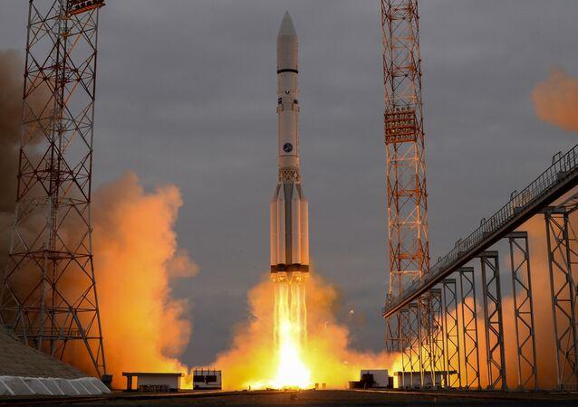 Un Proton-M tiré depuis le cosmodrome de Baïkonour