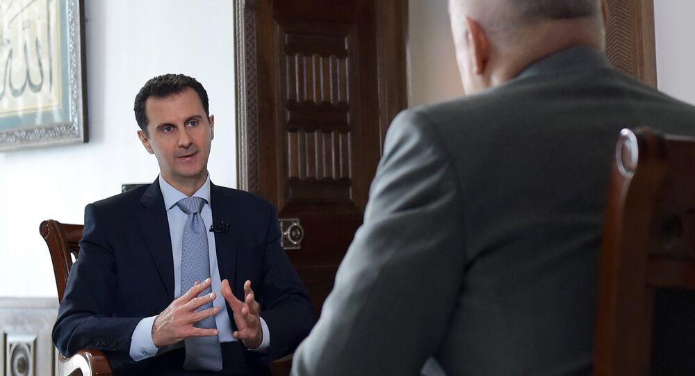 Bachar al-Assad: Interview exclusive accordée à Sputnik