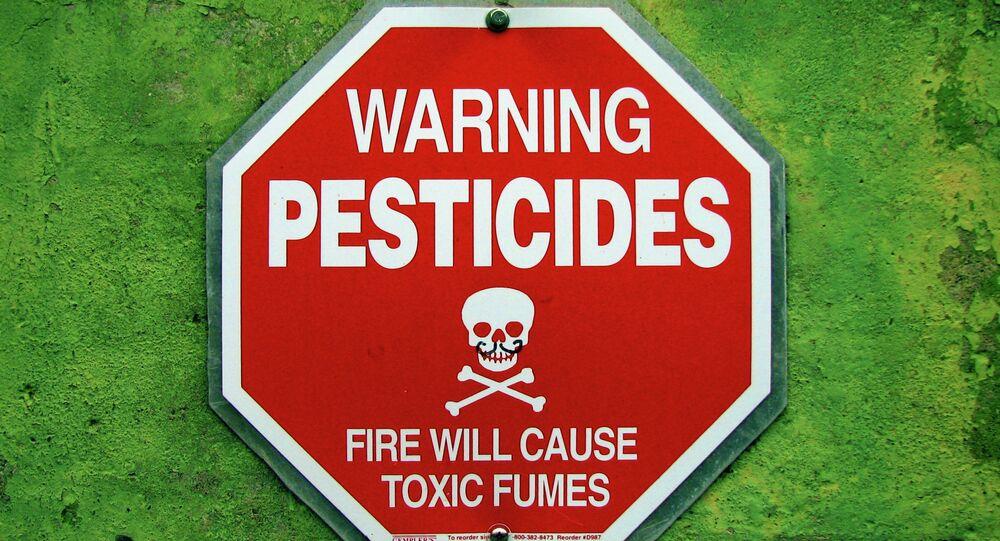 Affiche Alerte aux pesticides