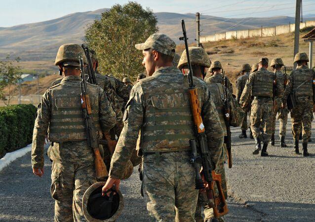 Soldats arméniens