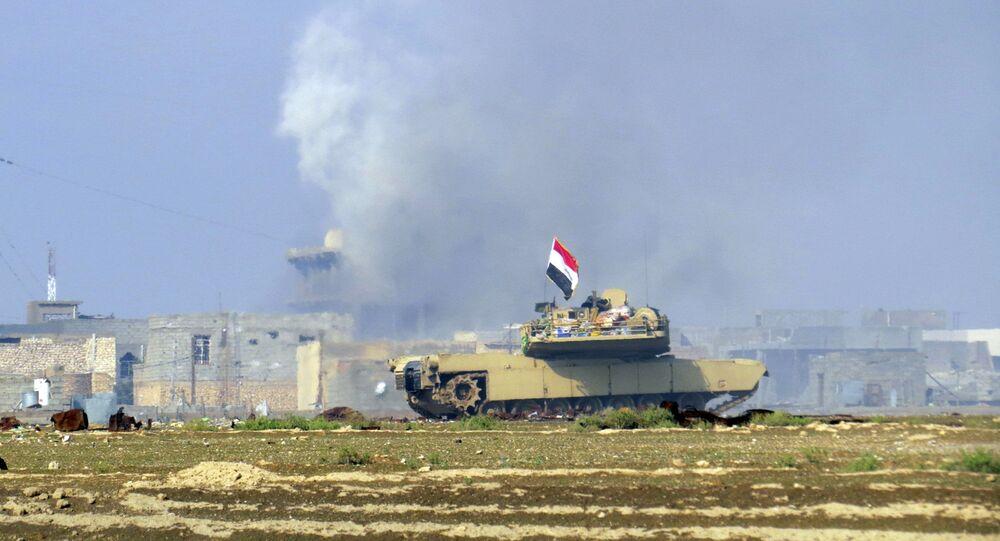 Forces irakiennes à Ramadi