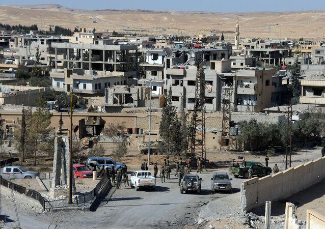 La ville d'Al-Qaryatayn libérée par l'armée syrienne