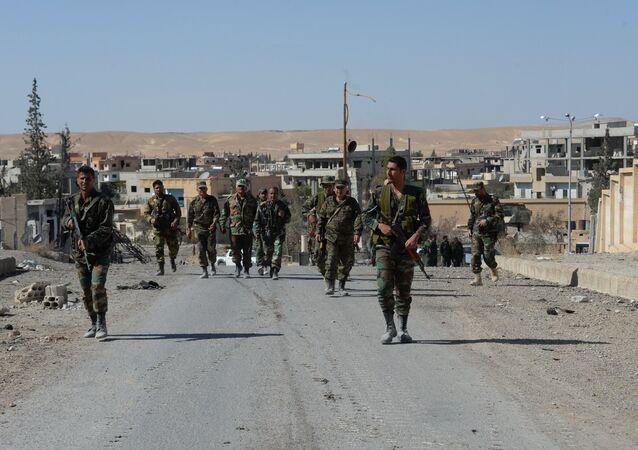 La ville syrienne d'Al-Qaryatayn libérée