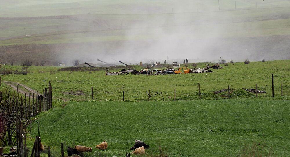 Zone du conflit du Karabakh