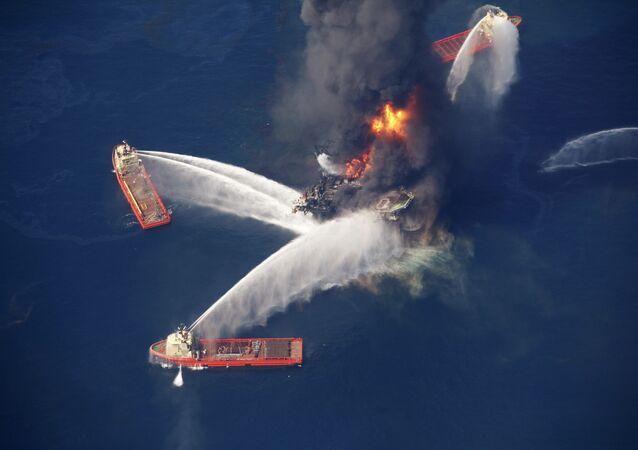 L'explosion en avril de la plateforme pétrolière Deepwater Horizon a déclenché la pire marée noire de l'histoire des Etats-Unis.
