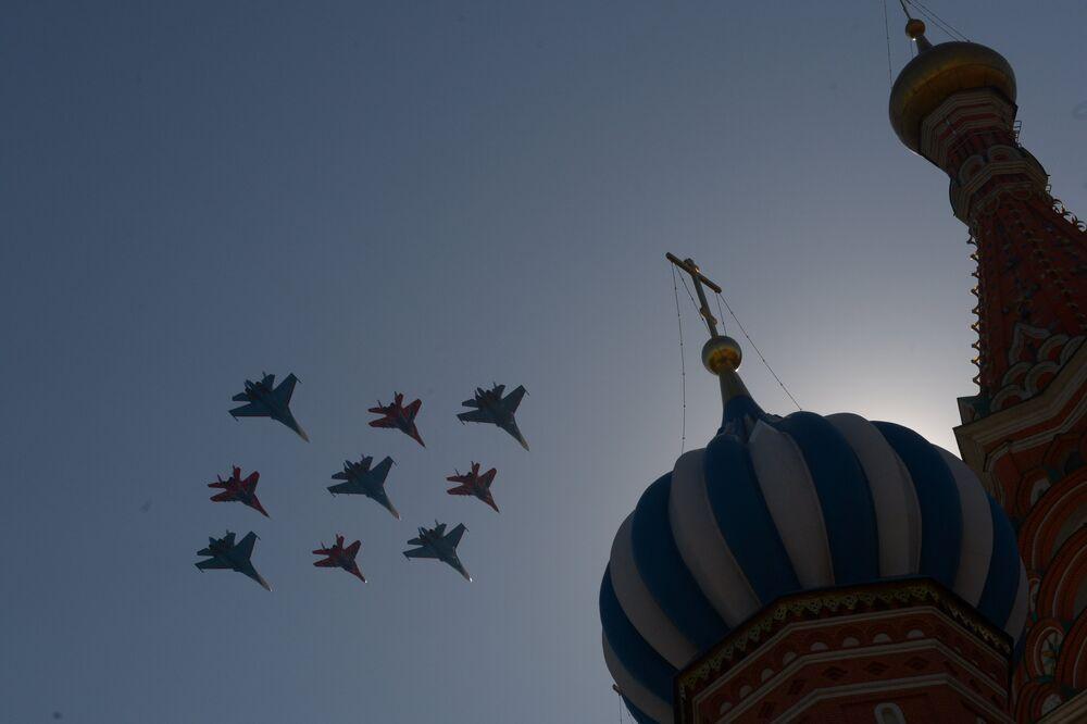 Les Preux russes, rois de la haute voltige