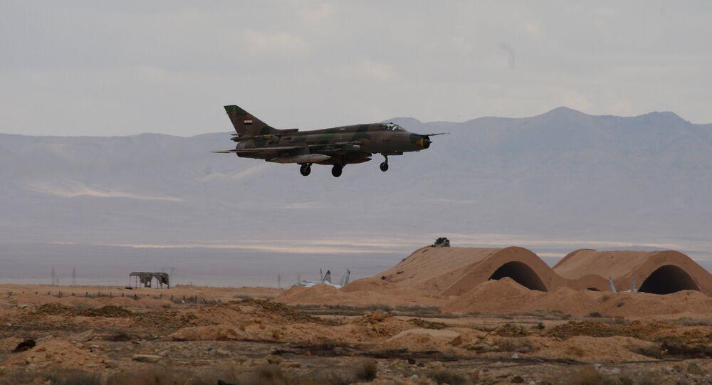 Un avion de l'armée syrienne
