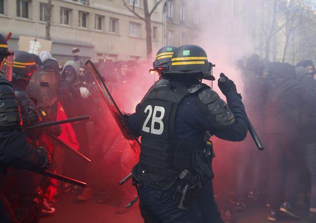 Les manifestantions en 2016