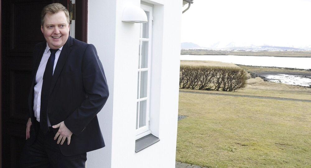 Le premier ministre islandais Sigmundur David Gunnlaugsson démissionne