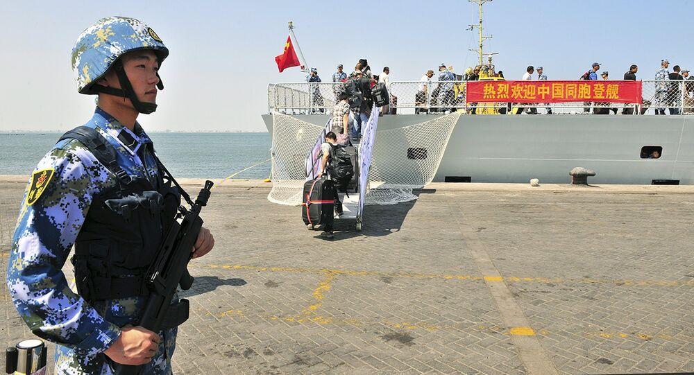 L'armée chinoise prend position sur la côte africaine